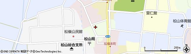 山形県酒田市肴町21周辺の地図