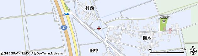 山形県東田川郡庄内町跡村西12周辺の地図