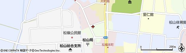 山形県酒田市肴町24周辺の地図