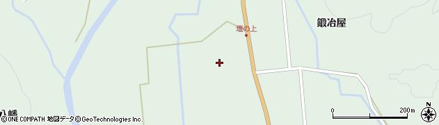 宮城県栗原市栗駒松倉鍛冶屋周辺の地図