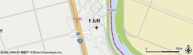 山形県酒田市広野十五軒62周辺の地図
