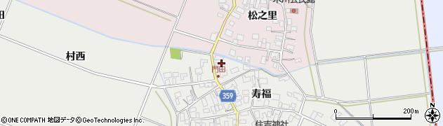 山形県酒田市門田寿福100周辺の地図