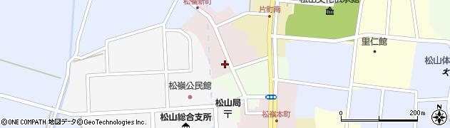 山形県酒田市新町52周辺の地図