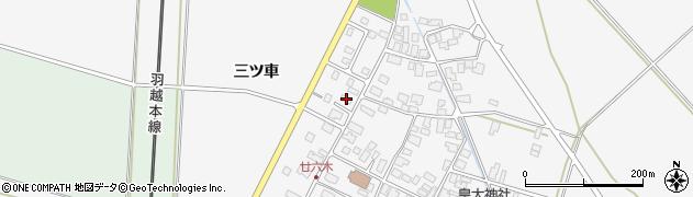 山形県東田川郡庄内町廿六木三ツ車129周辺の地図