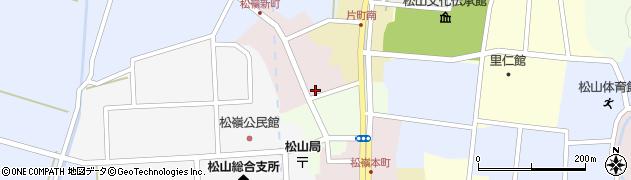 山形県酒田市新町7周辺の地図