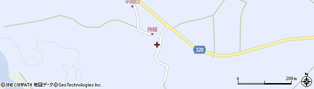 山形県最上郡金山町山崎三枝861周辺の地図
