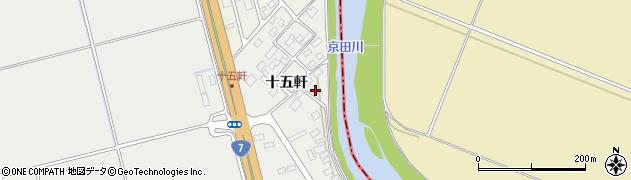 山形県酒田市広野十五軒64周辺の地図