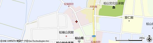 山形県酒田市新町45周辺の地図
