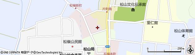 山形県酒田市新町3周辺の地図