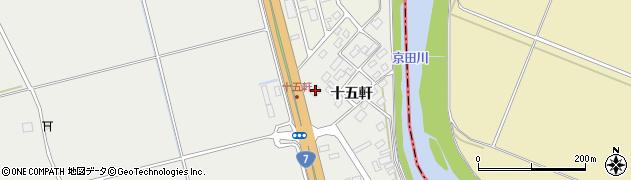 山形県酒田市広野十五軒77周辺の地図