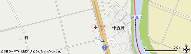 山形県酒田市広野中曽美41周辺の地図