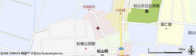 山形県酒田市新町44周辺の地図