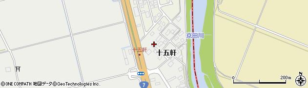 山形県酒田市広野十五軒78周辺の地図