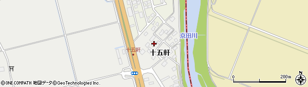 山形県酒田市広野十五軒79周辺の地図