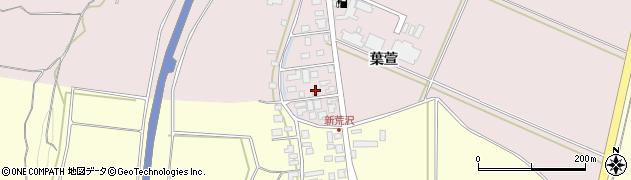 山形県酒田市坂野辺新田葉萱215周辺の地図