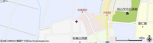 山形県酒田市山田4周辺の地図