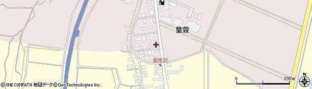 山形県酒田市坂野辺新田葉萱216周辺の地図