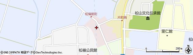 山形県酒田市新町36周辺の地図