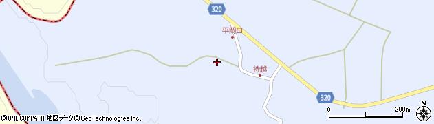 山形県最上郡金山町山崎三枝872周辺の地図
