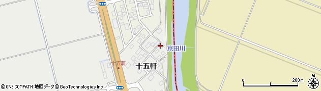 山形県酒田市広野十五軒68周辺の地図