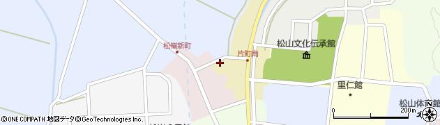 山形県酒田市片町105周辺の地図