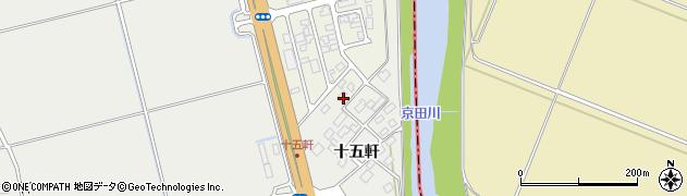 山形県酒田市広野十五軒83周辺の地図