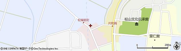 山形県酒田市新町周辺の地図