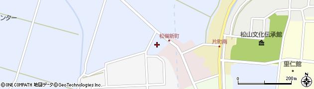 山形県酒田市竹田清水下13周辺の地図