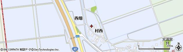 山形県東田川郡庄内町跡西畑31周辺の地図
