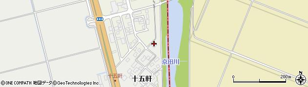 山形県酒田市広野十五軒91周辺の地図