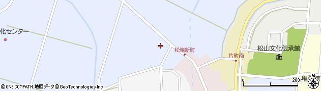 山形県酒田市竹田清水下10周辺の地図