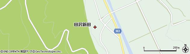 山形県酒田市田沢田沢新田87周辺の地図