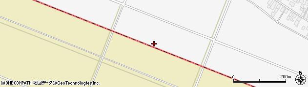 山形県酒田市板戸(車田)周辺の地図