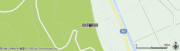山形県酒田市田沢(田沢新田)周辺の地図