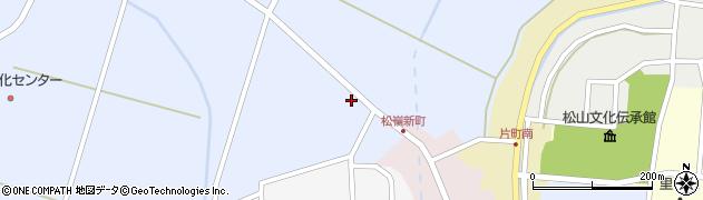 山形県酒田市竹田清水下11周辺の地図