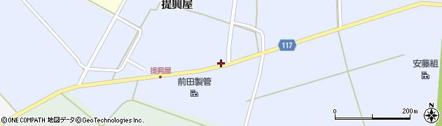 山形県東田川郡庄内町提興屋野岡17周辺の地図