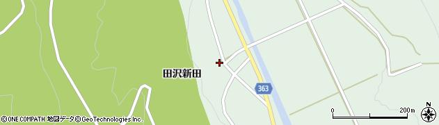 山形県酒田市田沢田沢新田85周辺の地図