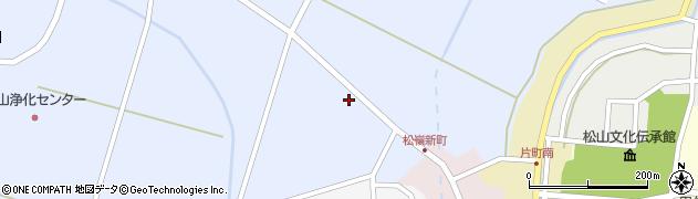 山形県酒田市竹田清水下27周辺の地図