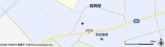 山形県東田川郡庄内町提興屋野岡42周辺の地図