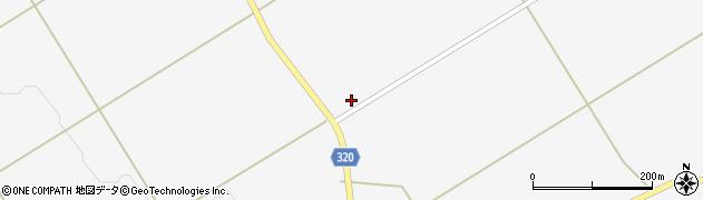 山形県最上郡金山町下野明697周辺の地図