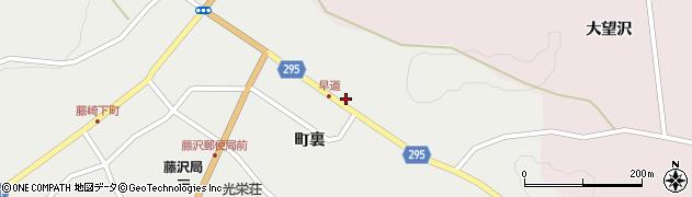 岩手県一関市藤沢町藤沢(早道)周辺の地図