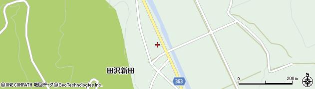山形県酒田市田沢田沢新田75周辺の地図