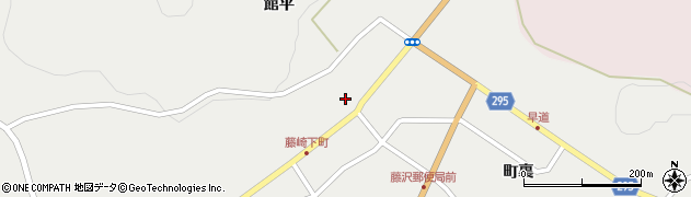 岩手県一関市藤沢町藤沢(町)周辺の地図