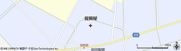 山形県東田川郡庄内町提興屋野岡54周辺の地図