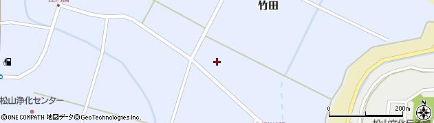 山形県酒田市竹田猿田21周辺の地図
