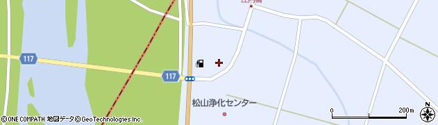 山形県酒田市竹田下川原周辺の地図