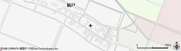 山形県酒田市板戸福岡126周辺の地図