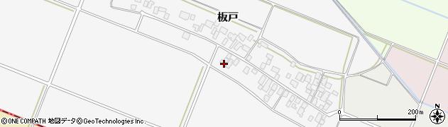 山形県酒田市板戸福岡53周辺の地図