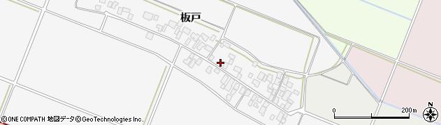 山形県酒田市板戸福岡118周辺の地図