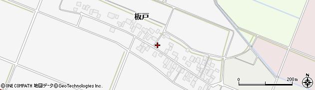 山形県酒田市板戸福岡115周辺の地図